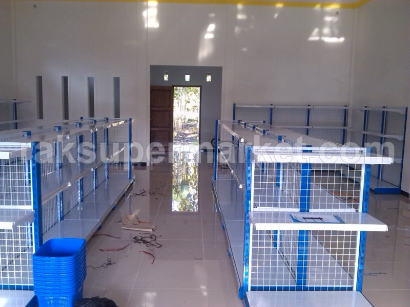 GONDOLA DOUBLE  120 cm (4+2) ADJOINING